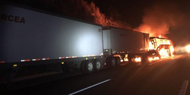 Accidente en autopista México – Puebla