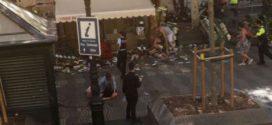 Lamentable atentado en Barcelona