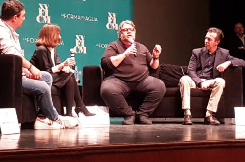 Guillermo del Toro presenta su más reciente película 'La forma del agua'