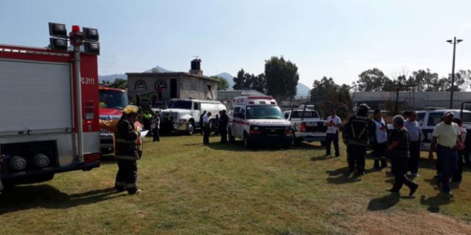Tres heridos tras explosión de fuegos pirotécnicos en el municipio de Tultepec