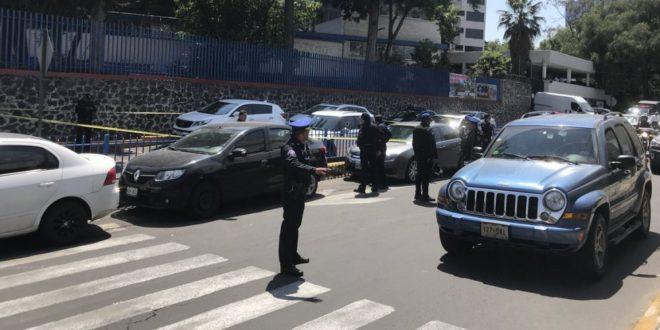Conductor fue asesinado afuera del Colegio Símon Bolívar