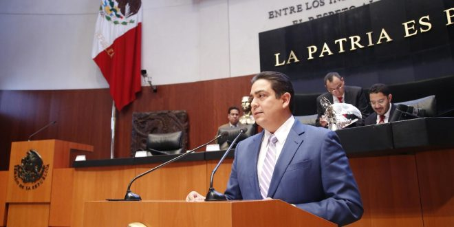 Senador tamaulipeco presenta iniciativa para reformar las leyes de la seguridad pública y privada