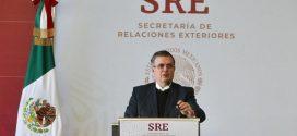 Ebrard anuncia estrategia de desarrollo México-EE.UU.