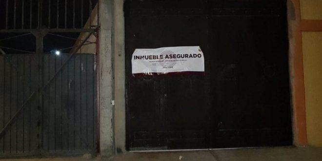 Aseguran armas y droga en inmueble en Tecámac