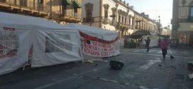 CNTE levanta plantón del centro de Morelia