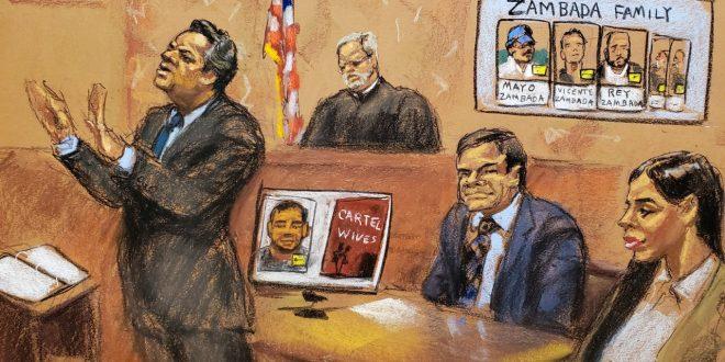 Fiscales de EU exigen cadena perpetua para 'El Chapo'