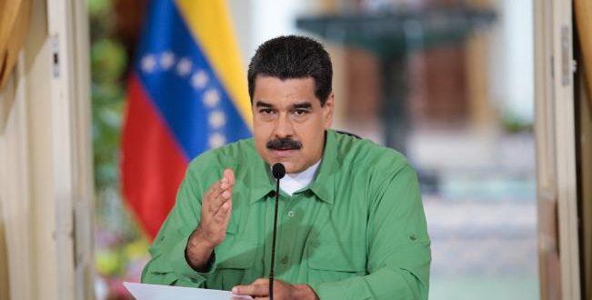 Nicolás Maduro llama cobarde a Peña Nieto