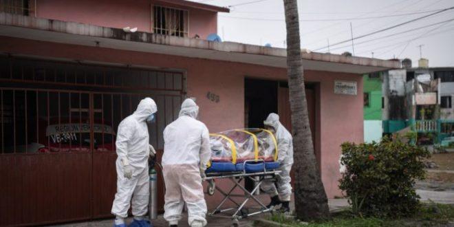 México llega a récord de nuevos casos de COVID con 2 mil 409 en 24 hrs.